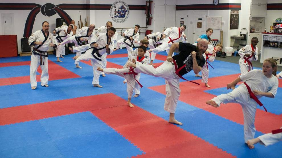 Family gets their kicks in ancient art of Tang Soo Do _lowres
