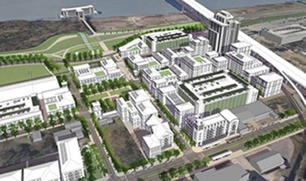 Firm picked to lease Water Campus, Bon Carré _lowres