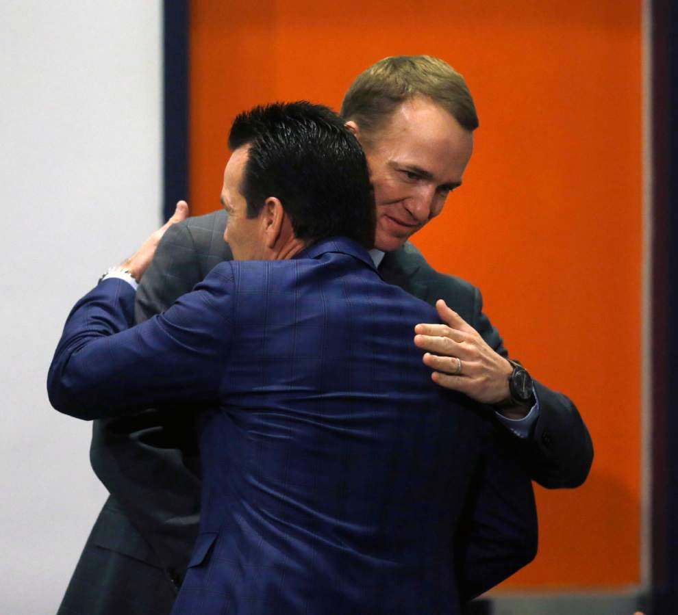 New Orleans native Peyton Manning retires from NFL in emotional press conference _lowres