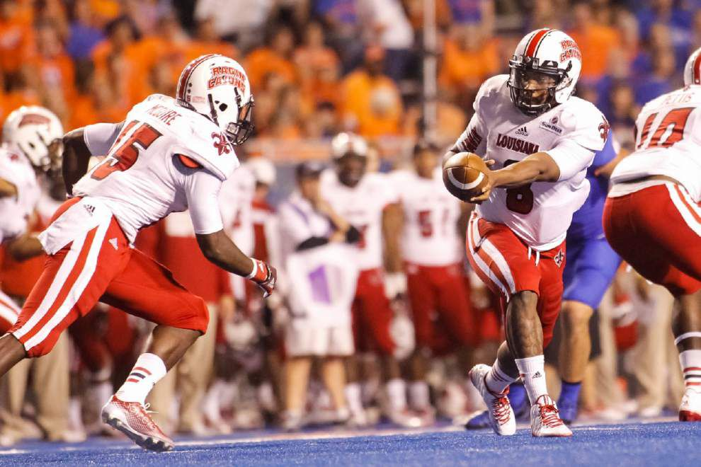 Cajuns tumble 34-9 at Boise State for third straight loss _lowres