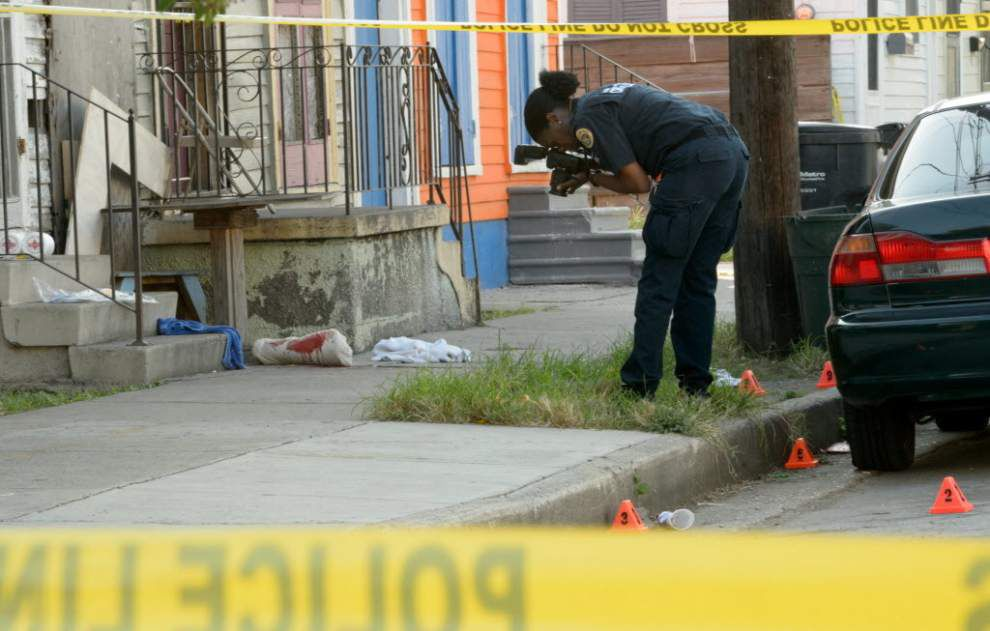 Eight people shot, two fatally, in string of shootings Tuesday in New Orleans _lowres
