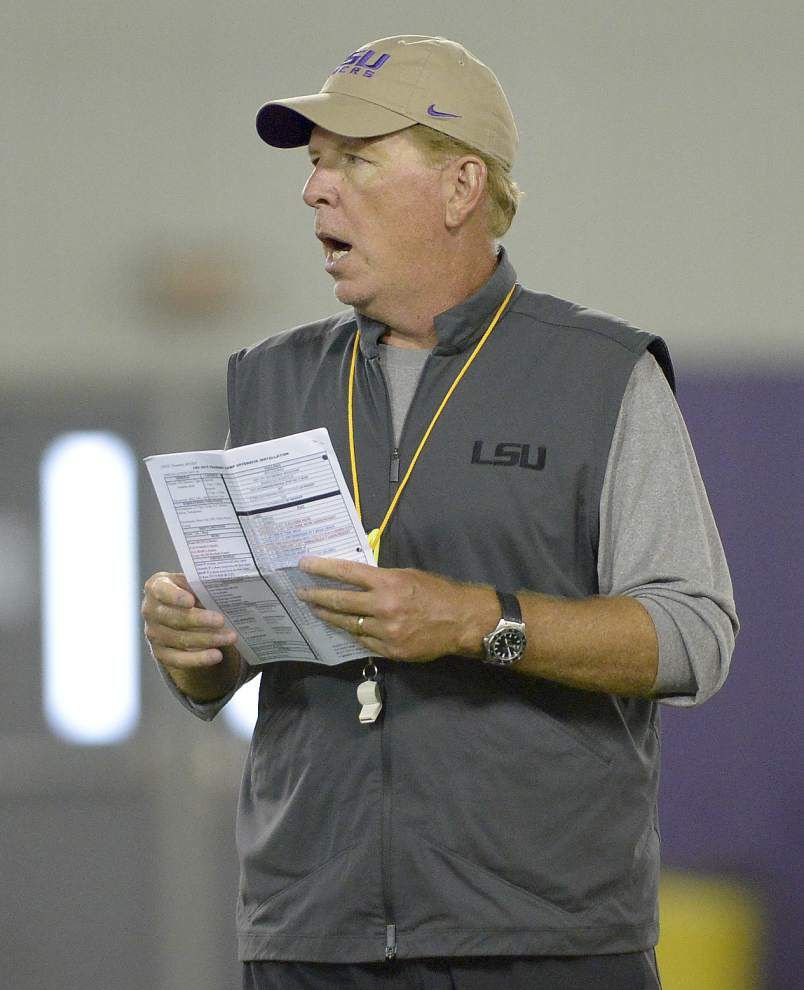 'I'm ready to roll': LSU offensive coordinator Cam Cameron treated successfully for prostate cancer _lowres