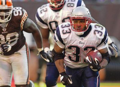 Kevin Faulk to be inducted into New England Patriots Hall of Fame _lowres