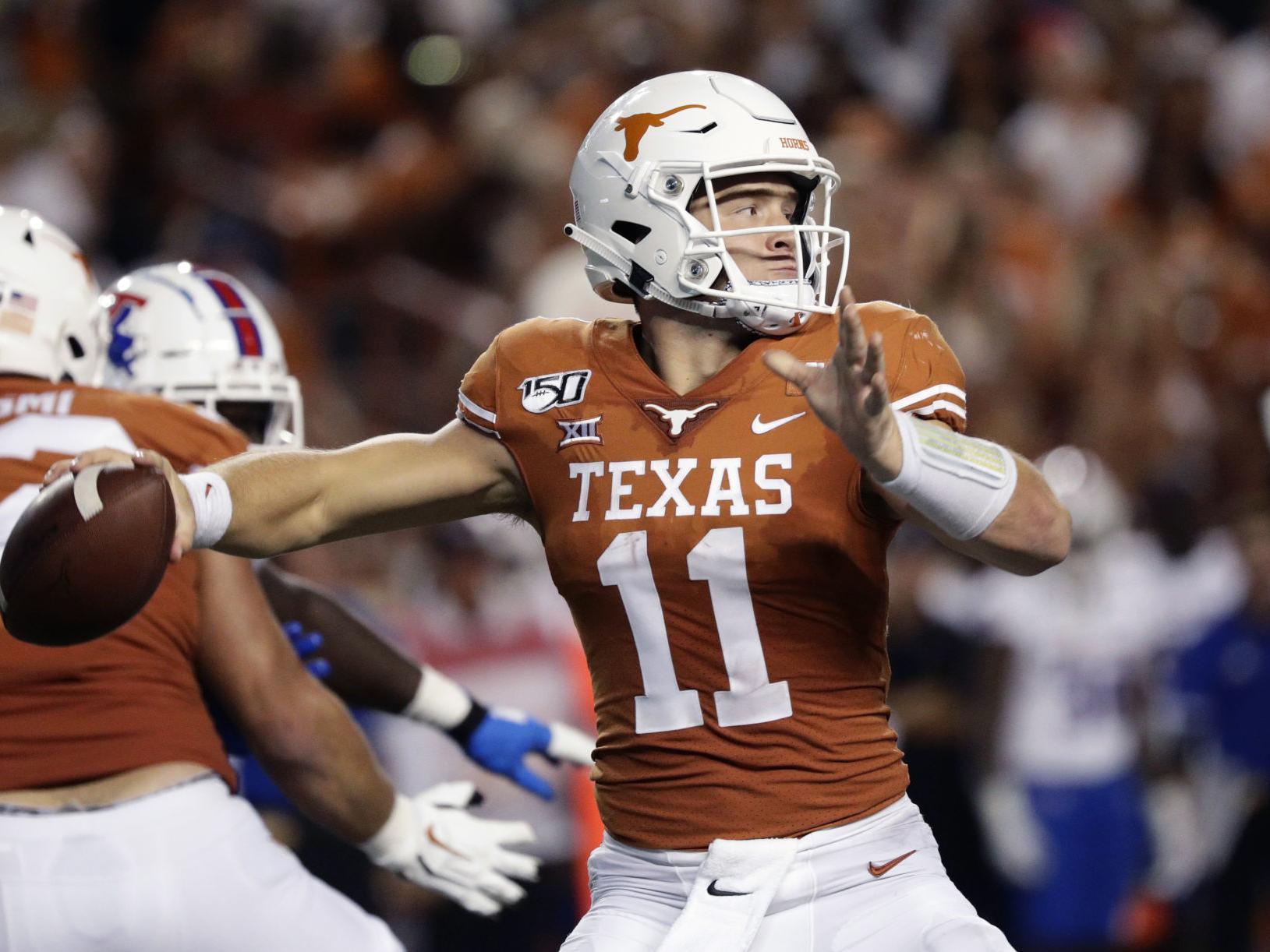Texas Longhorns Qb Sam Ehlinger On Facing The Lsu Secondary Joe Burrow The Game Plan Lsu Theadvocate Com