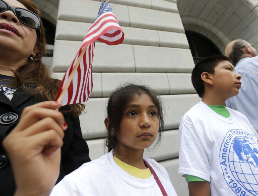 Appellate judges were preparing to consider whether to lift a temporary hold on President Barack Obama's executive action shielding immigrants from deportation _lowres