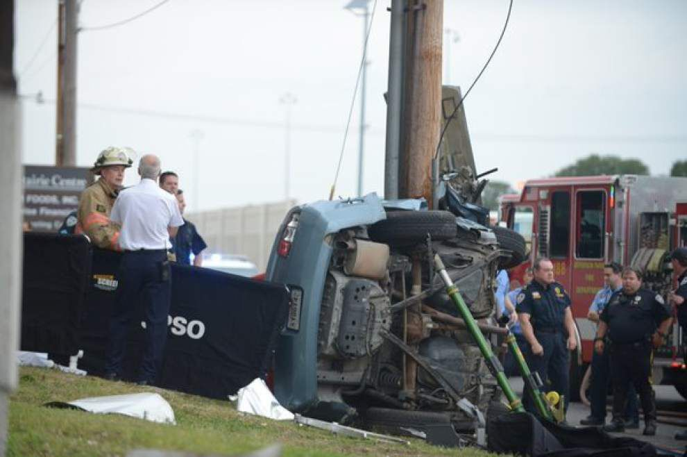 Two people killed in morning accident on I-10 Service Road in Metairie _lowres