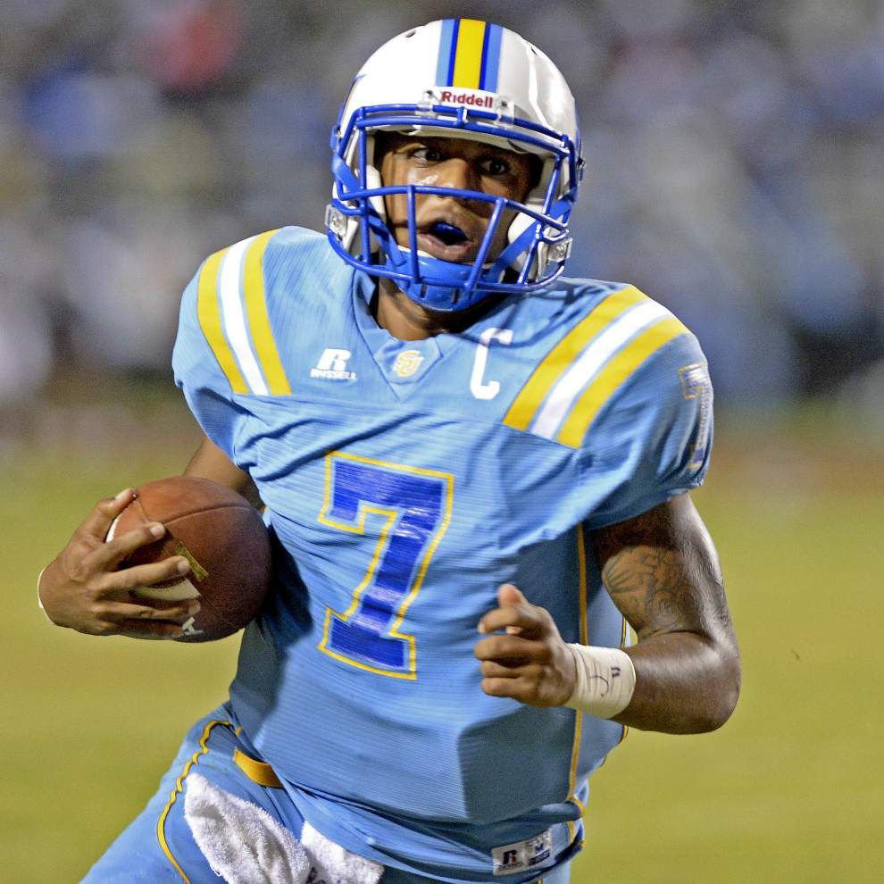 Quarterback Austin Howard's career effort leads parade of strong efforts in 50-31 win over Jackson State _lowres