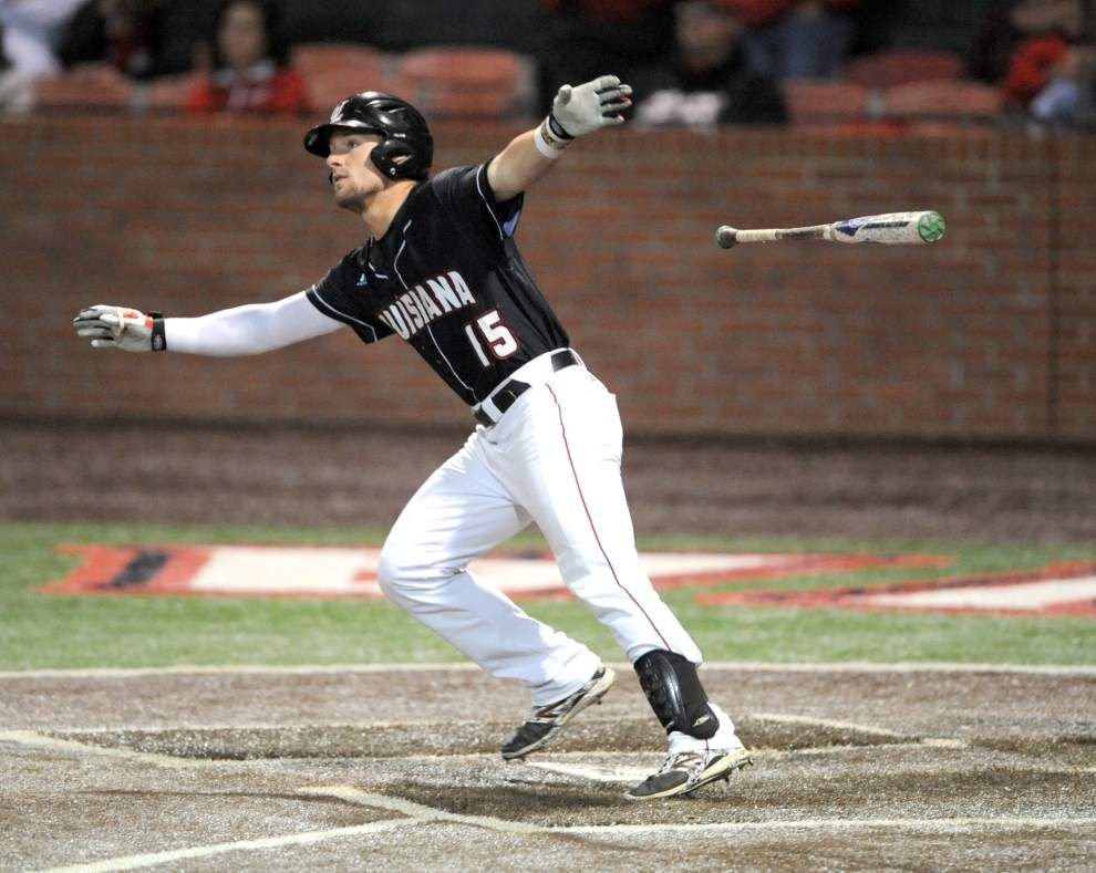 Cajuns' power-hitting Dylan Butler improving overall game at plate _lowres