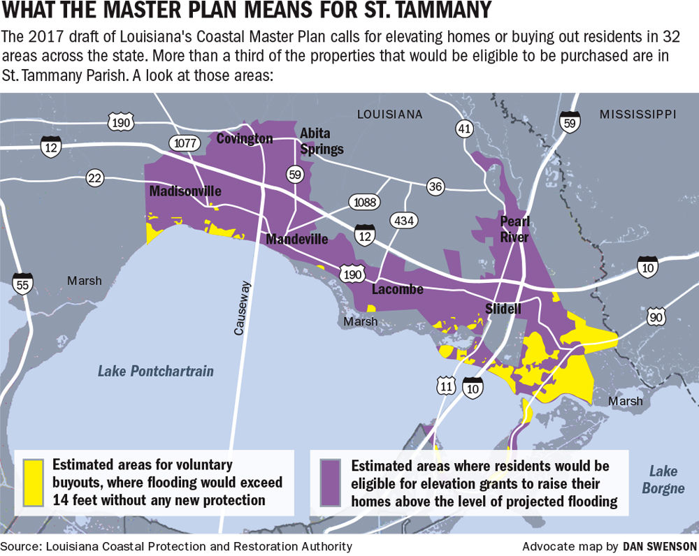 With threat of flooding rising new coastal plan calls for buying with threat of flooding rising new coastal plan calls for buying out properties in endangered areas of st tammany st tammany theadvocate malvernweather Gallery