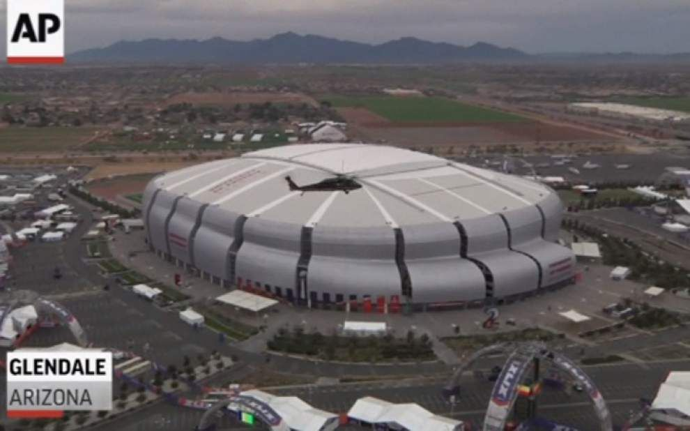 Securing the Super Bowl from the air and ground _lowres