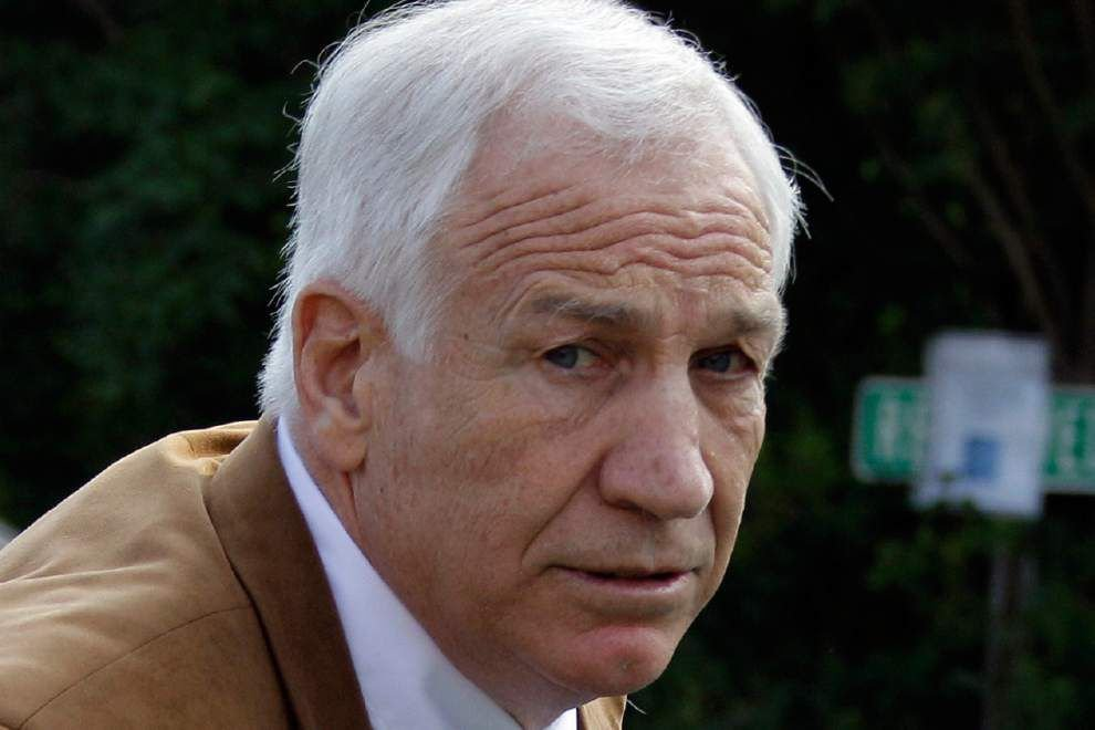 Sandusky tries to get his Penn State pension back _lowres