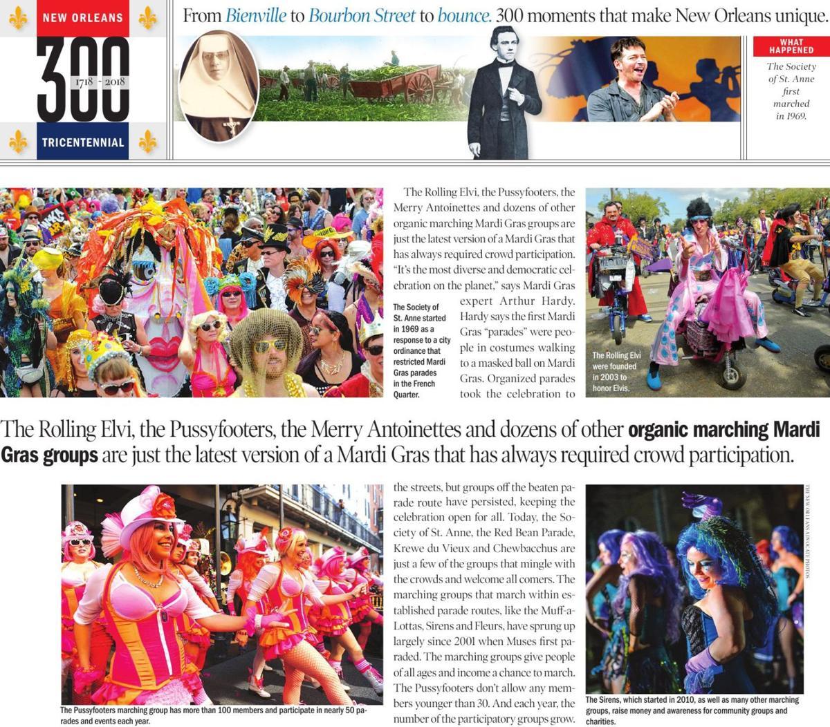300 participatory mardi gras