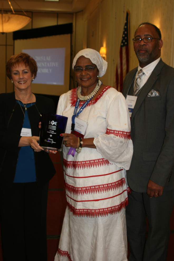 Lafayette educator honored with LAE Human and Civil Rights Award _lowres