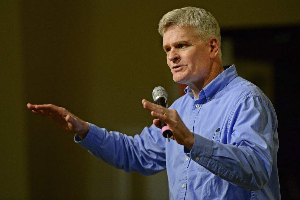Cassidy supports Trump, says the nation must control its borders, dump Obamacare _lowres