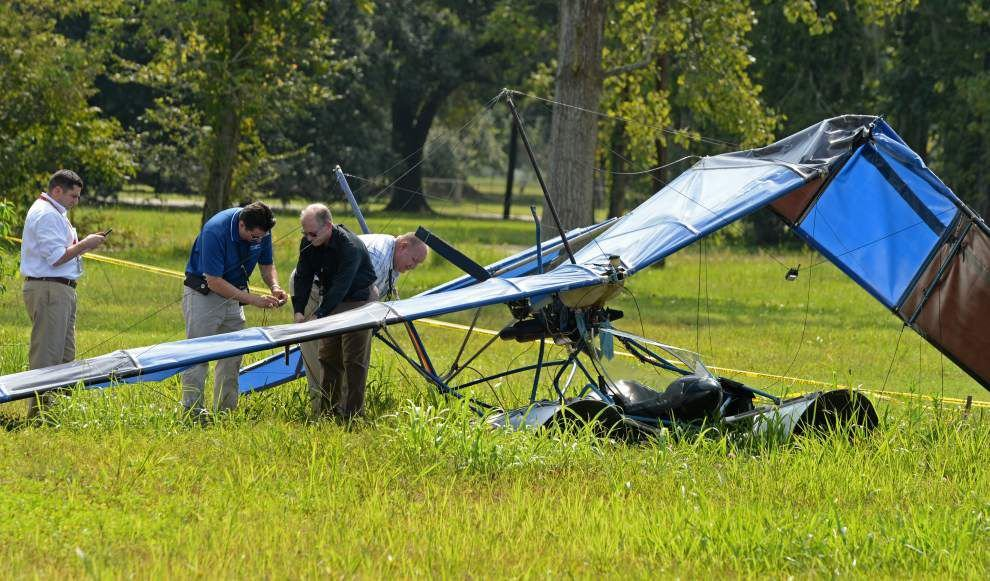 After ultralight pilot's second recent crash, at least one St. Amant resident is 'terrified' of what's flying overhead _lowres