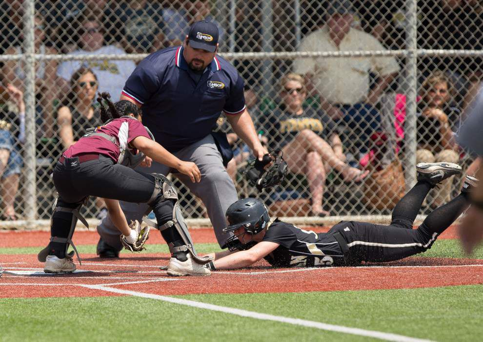 State softball tournament: Kaplan, Northside Christian advance; Teurlings, Pine Prairie, Vermilion Catholic eliminated _lowres