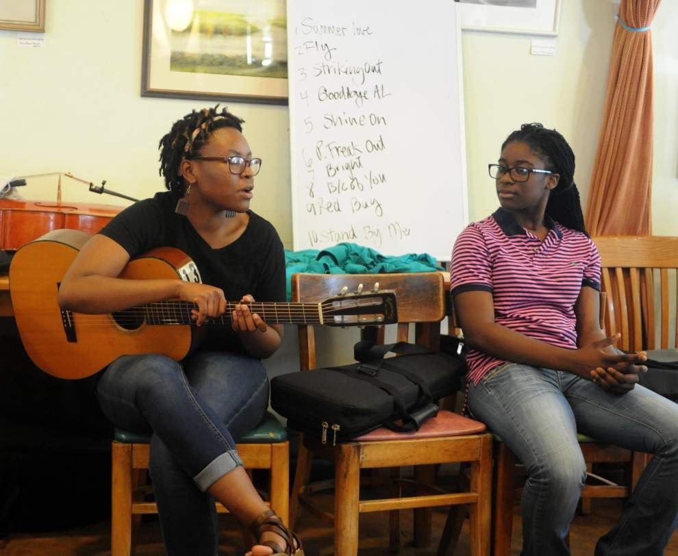 Sounds of the  Songbirds     St. Francisville music camp lets kids learn, jam, write _lowres