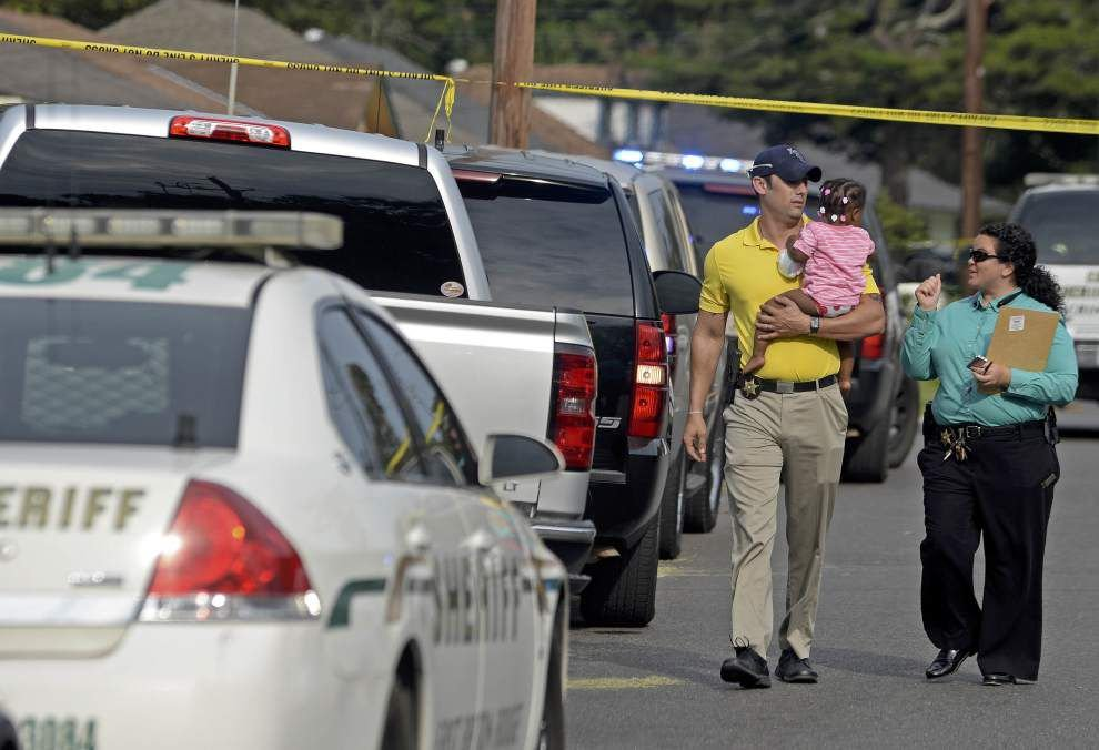A toddler, East Baton Rouge Parish Sheriff's Office deputies and acts of compassion at terrible crime scene _lowres