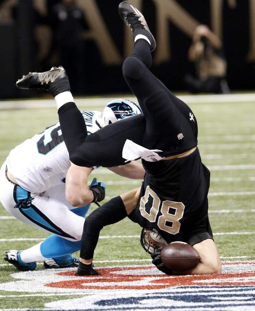 'Straight disrespect' sparks Saints LB Curtis Lofton's fight with Panthers QB Cam Newton _lowres