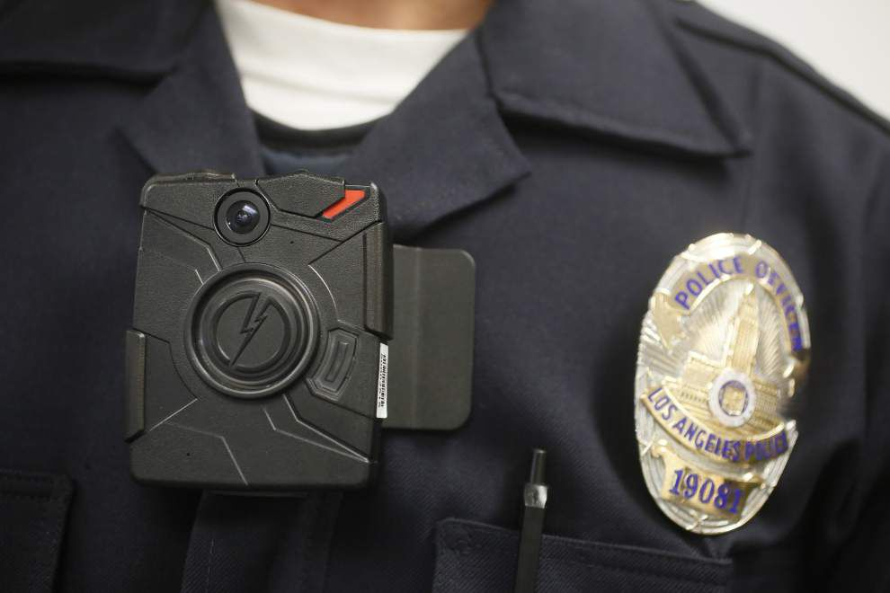 Work proceeding on Lafayette police cameras while policies under review _lowres