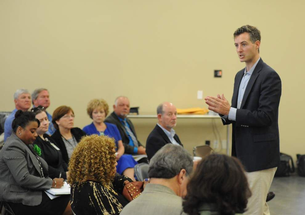 White visits Acadiana educators for input on pre-school, career education, Common Core _lowres