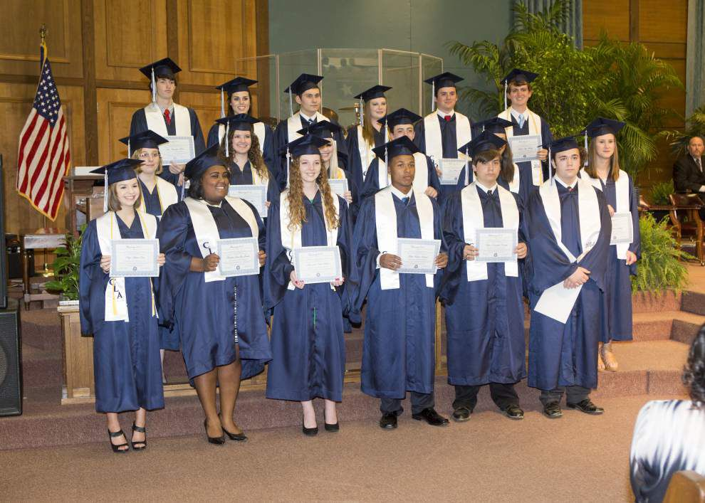 Nine graduates at Christian Life for 13 years _lowres