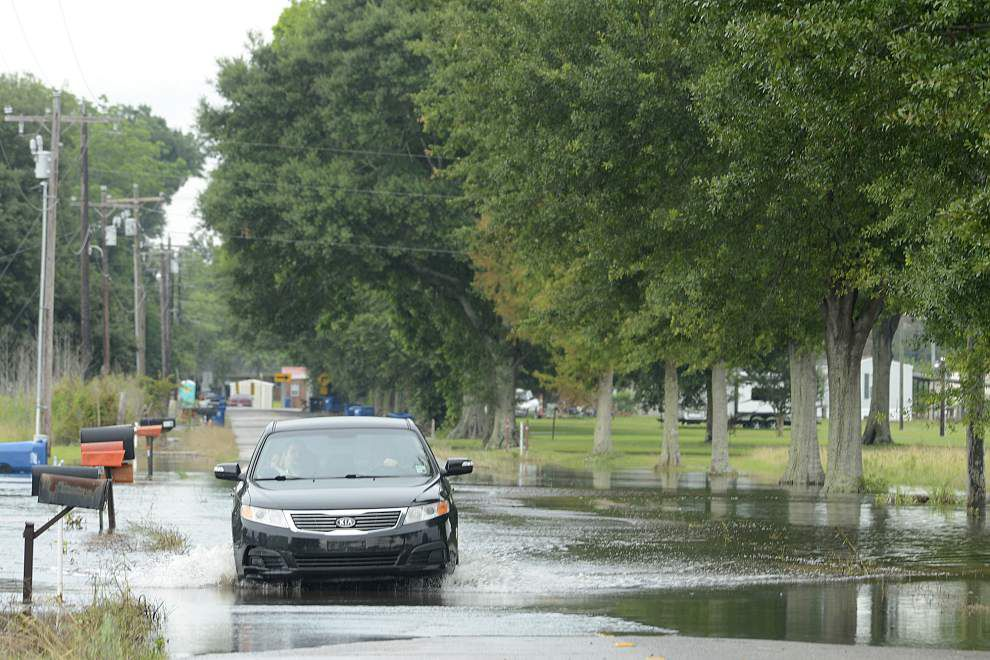 Water recedes in Acadiana, but more rain on the way _lowres