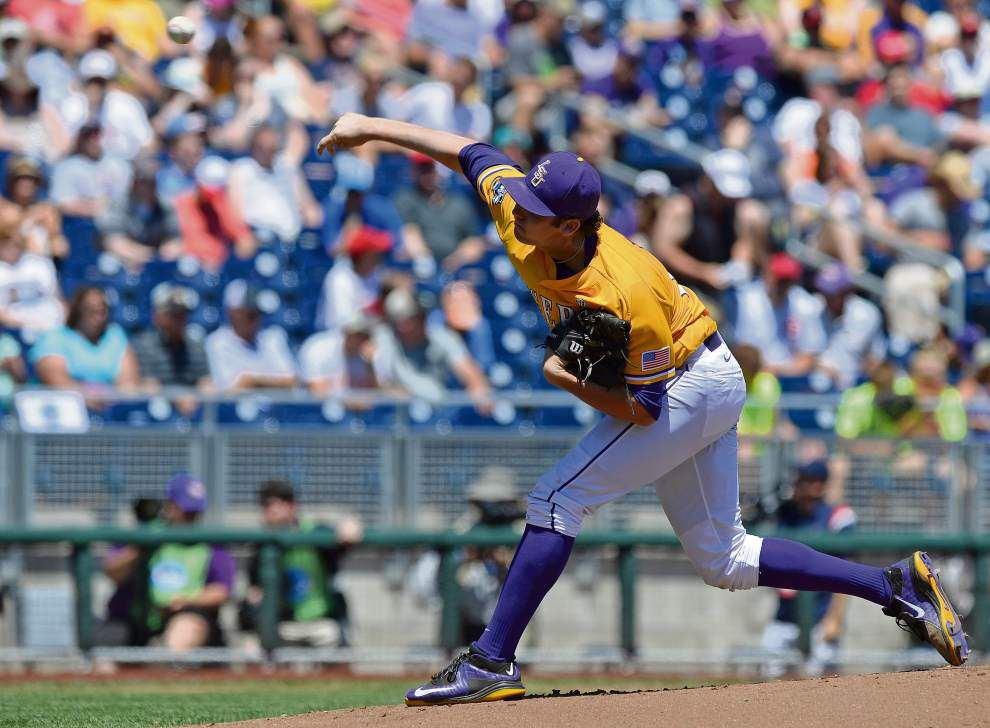 Photos: Gallery of LSU's come-from-behind victory in College World Series _lowres