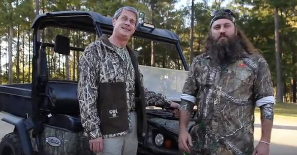 In latest campaign ad, camo-wearing David Vitter, Duck Dynasty's Willie Robertson talk about redemption _lowres