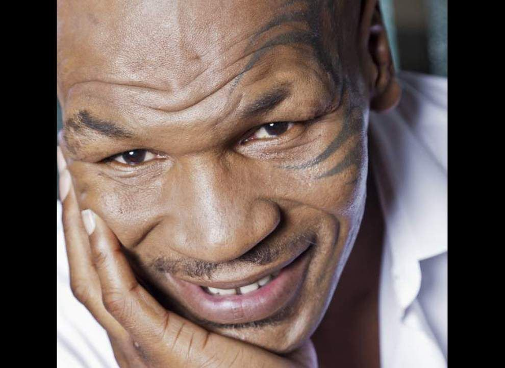 Mike Tyson coming to Marksville: After life of turmoil and regrets, finally learning to 'enjoy it properly' _lowres