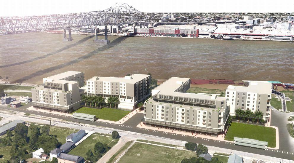 After Split Vote By City Planners Planned 354 Unit Apartment Complex In Algiers Point Heads To