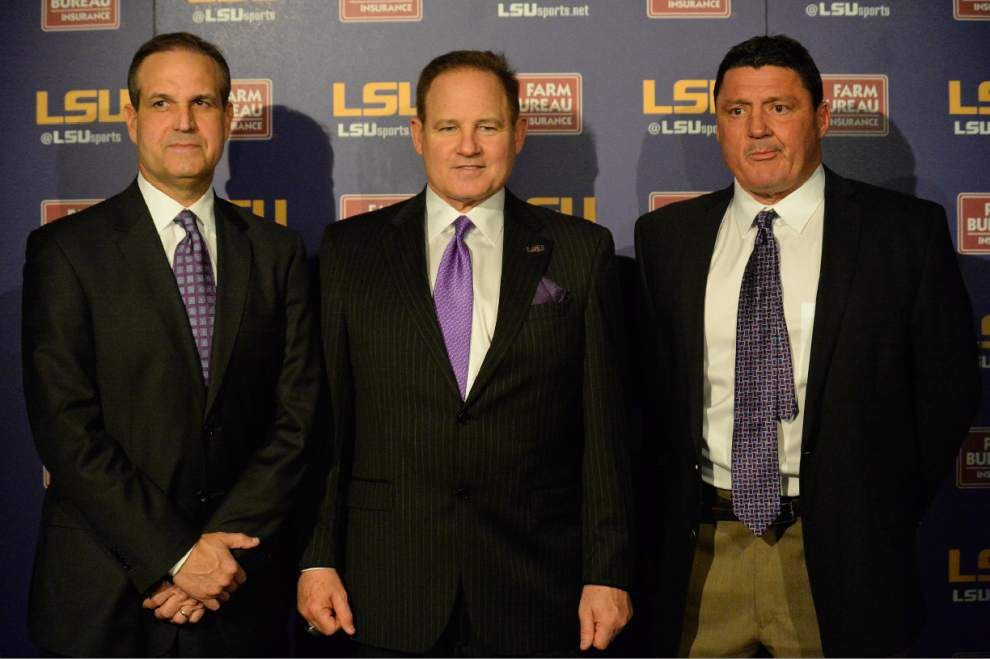 Video: Changing schemes, thanks for beating Ole Miss (leftovers from the press conference of LSU coaches Kevin Steele, Ed Orgeron) _lowres