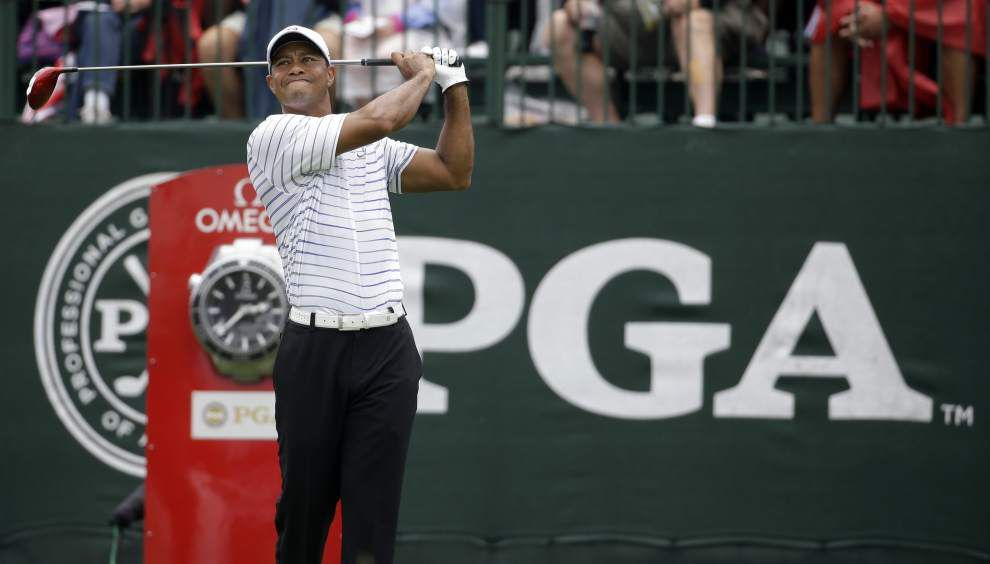 Tiger Woods says strength is back, swing will take time _lowres