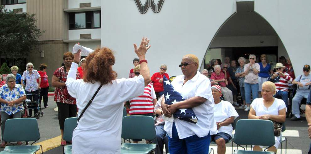 Fallen son honored with flag dedication _lowres