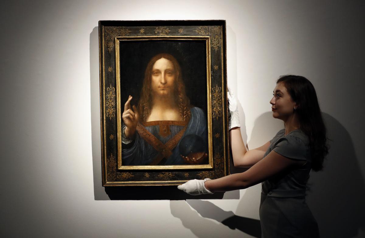 Britain Leonardo da Vinci Painting 01