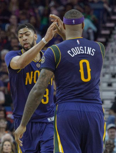 01fc28b23 Rod Walker  At midway point after Anthony Davis and DeMarcus Cousins joined  forces