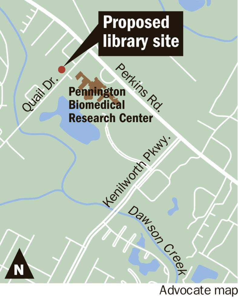 Fingers crossed — East Baton Rouge library board eyeing Quail Drive site for long-delayed South Branch _lowres