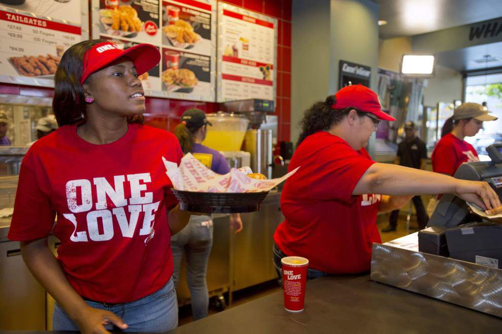 Raising Cane's settles dispute over 'One Love' _lowres