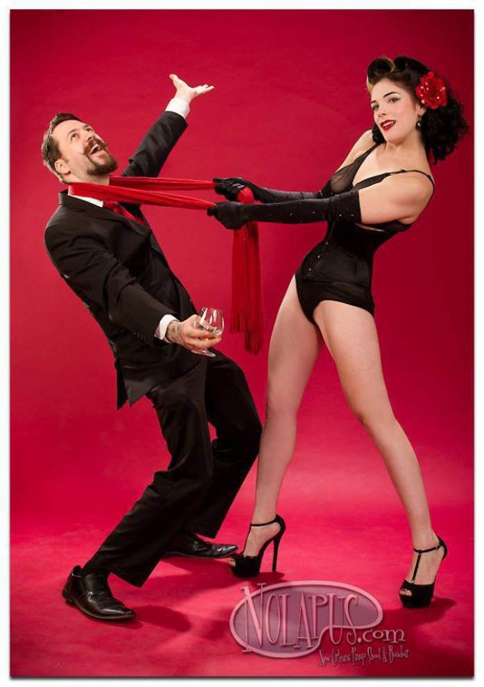 Stripper or burlesque? Get a 'Clue' at New Orleans show _lowres