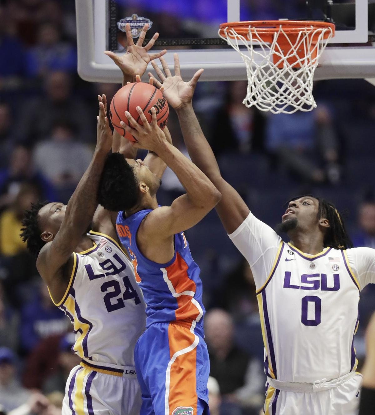 SEC Florida LSU Basketball
