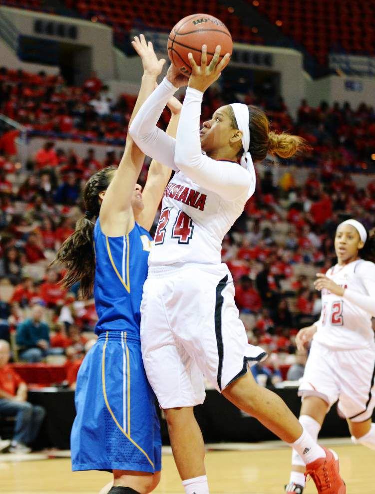 Ragin' Cajuns women go looking for win at Louisiana Tech _lowres