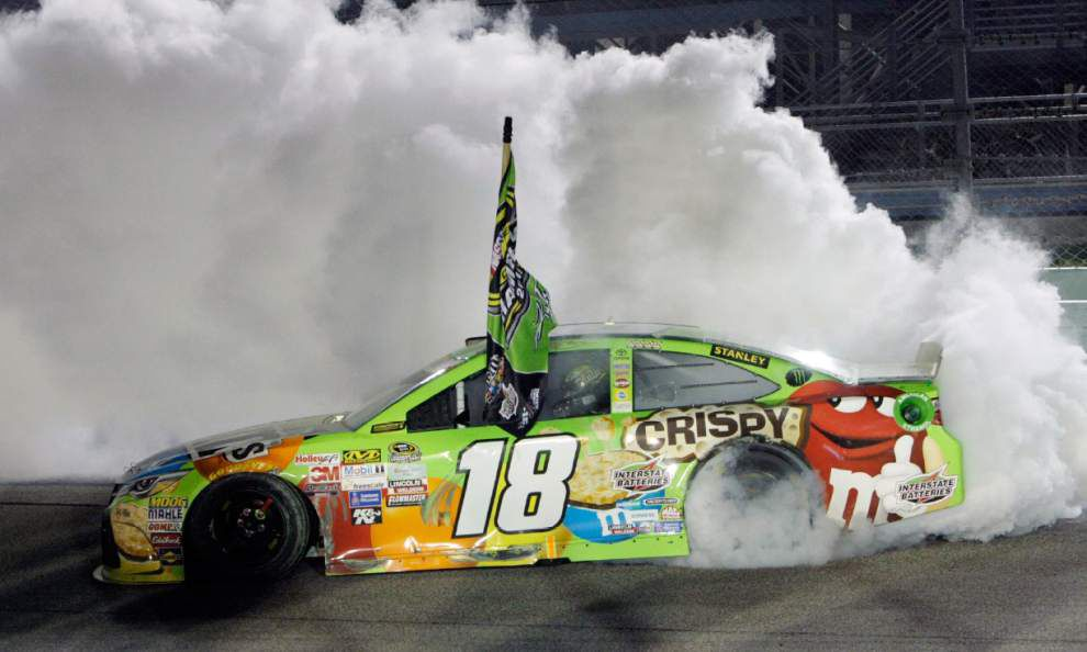 All the way back: Kyle Busch wins at Homestead for his first Sprint Cup championship _lowres