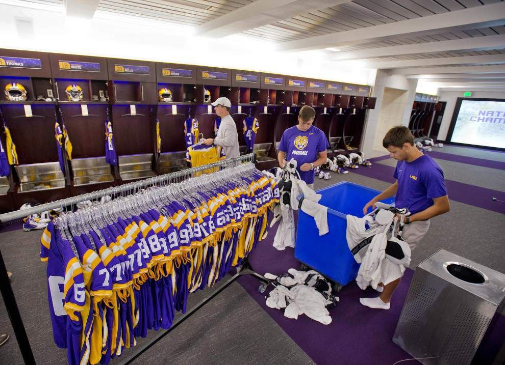 Photos: A look inside -- see how equipment managers prep LSU ...