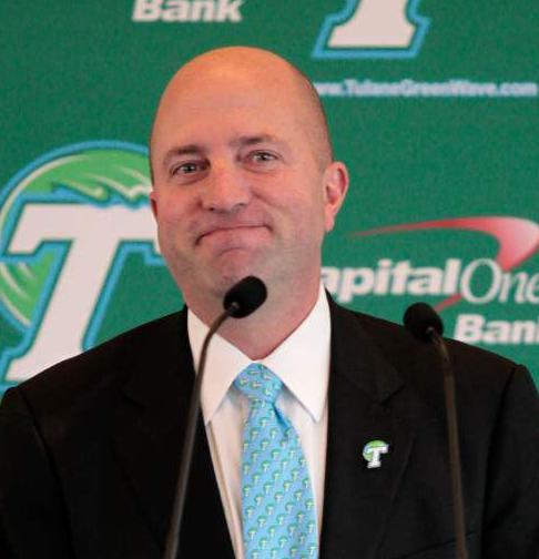Q&A with Troy Dannen: Tulane's new athletic director talks expectations, rekindling the rivalry with LSU and what he sees in the future of Green Wave sports _lowres