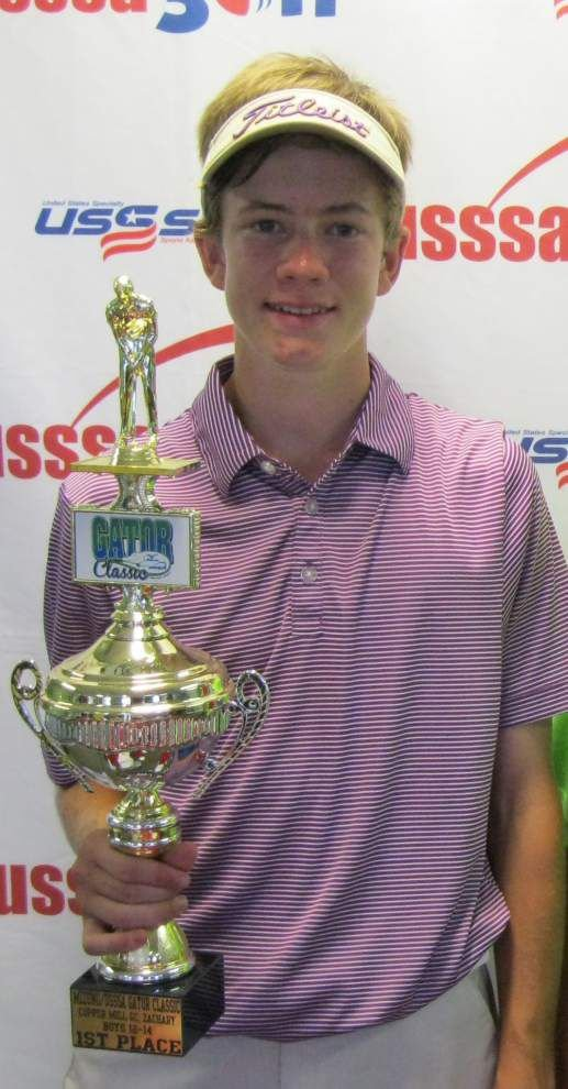 Local golfers to play in AJGA tourney _lowres