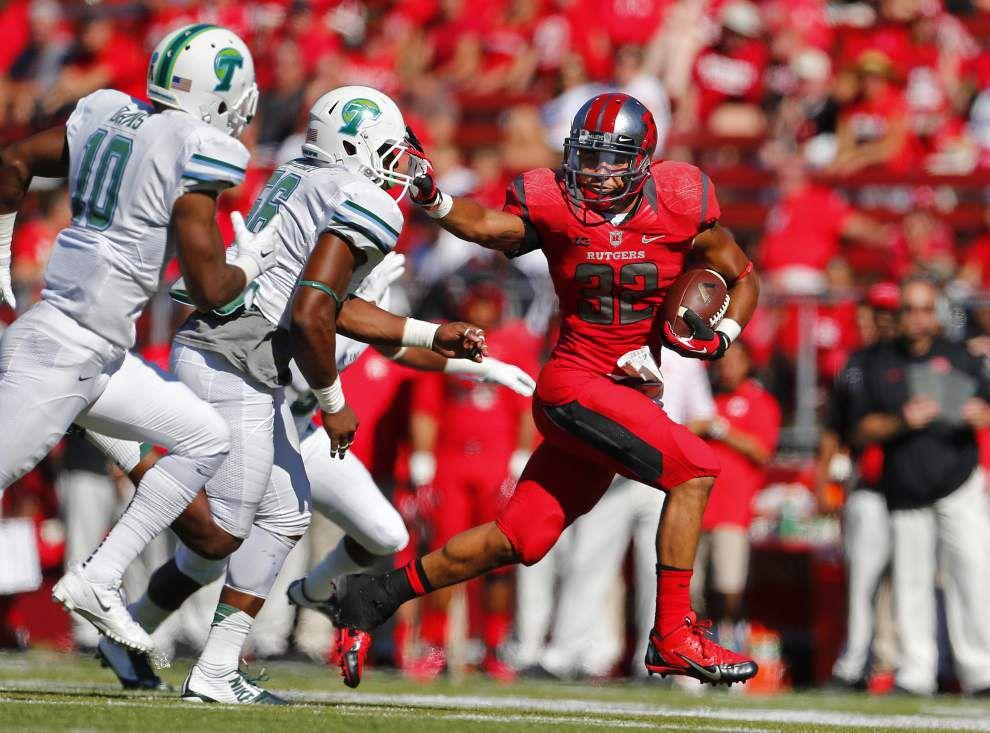 Tulane struggles again, falls 31-6 at Rutgers _lowres