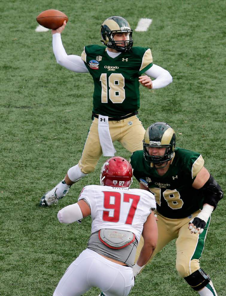 Film study: What's to like -- and dislike -- about new Saints quarterback Garrett Grayson _lowres