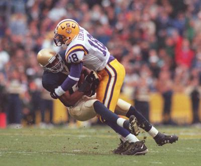 Series history: LSU and Notre Dame had some drama, even before they met _lowres