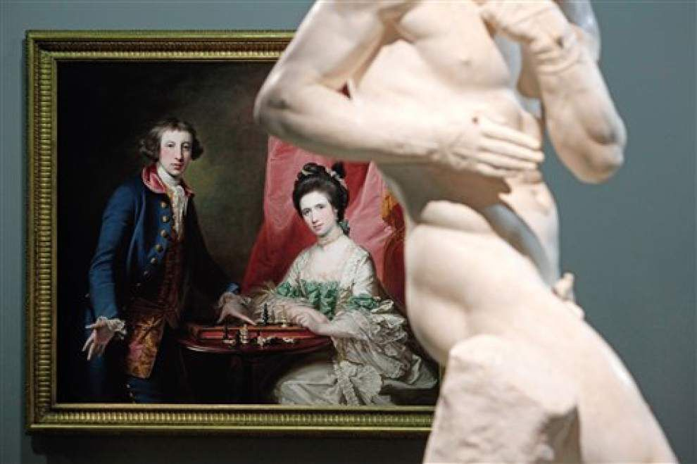 Louvre Abu Dhabi shows off its treasures in Paris _lowres