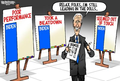 Walt Handelsman: Biden Debate Performance
